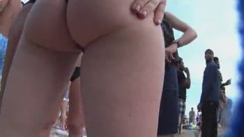 Fucking At The Nude Beach!