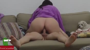Woman Cumming On Dick